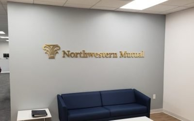5 benefits of a Lobby Sign to bring your lobby to life with a Custom Office Sign
