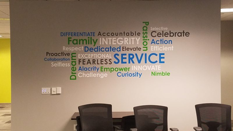 Communicate a message Wall Graphics - Sequoia Signs East Bay