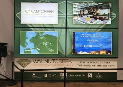 Convention Environmental Signage - Sequoia Signs Walnut Creek