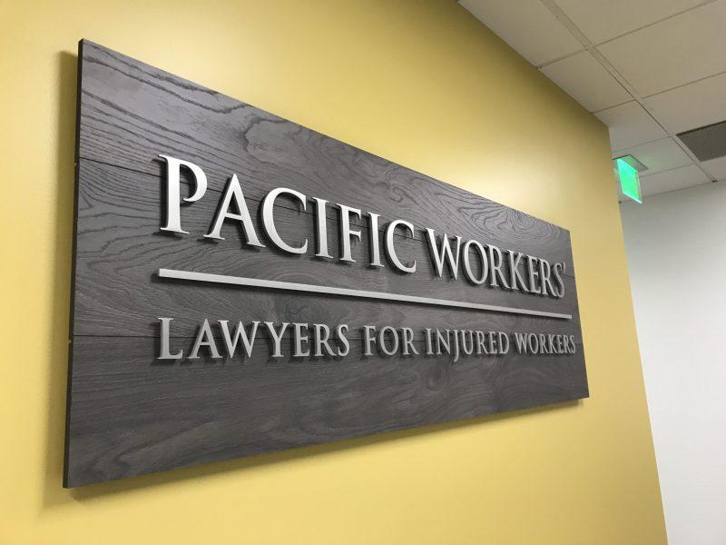 Custom Lobby Sign - Sequoia Signs East Bay