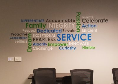 Die Cut Wall Graphics - Sequoia Signs - East Bay