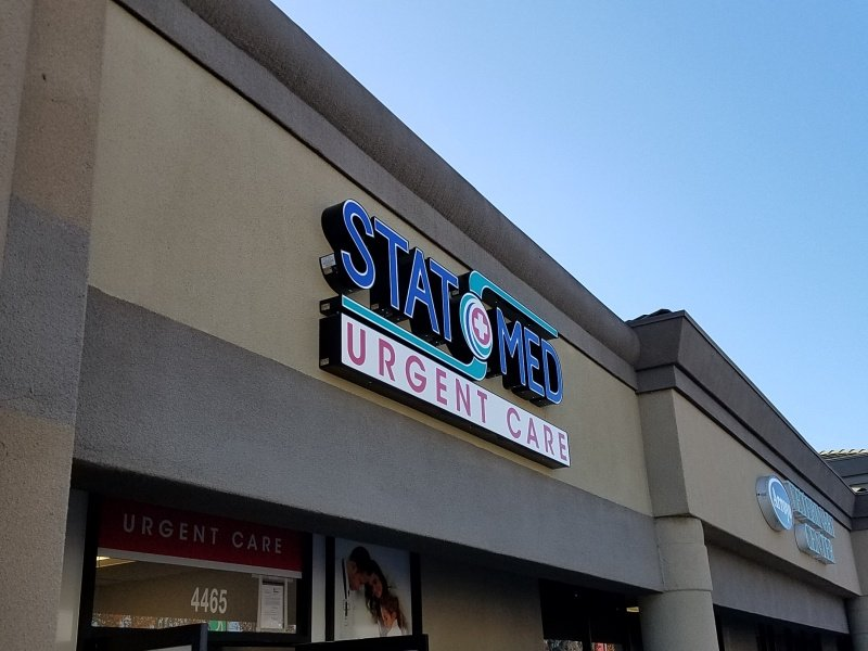 Lighted Outdoor Business Sign - Sequoia Signs Concord