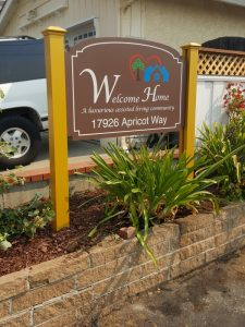 Multi-Family Community Entrance Sign - Sequoia Signs Walnut Creek