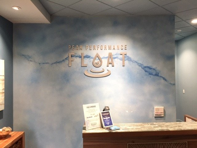 Wall Wrap Lobby Sign - Sequoia Signs East Bay