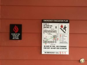 Fire & Safety ADA Compliant Signs - Sequoia Signs East Bay Area