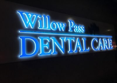 Front & Backlit Illuminated Business Sign - Sequoia Signs Pleasant Hill