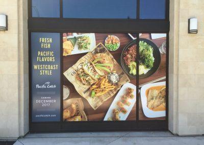 Restaurant Window Graphics - Sequoia Signs Oakland