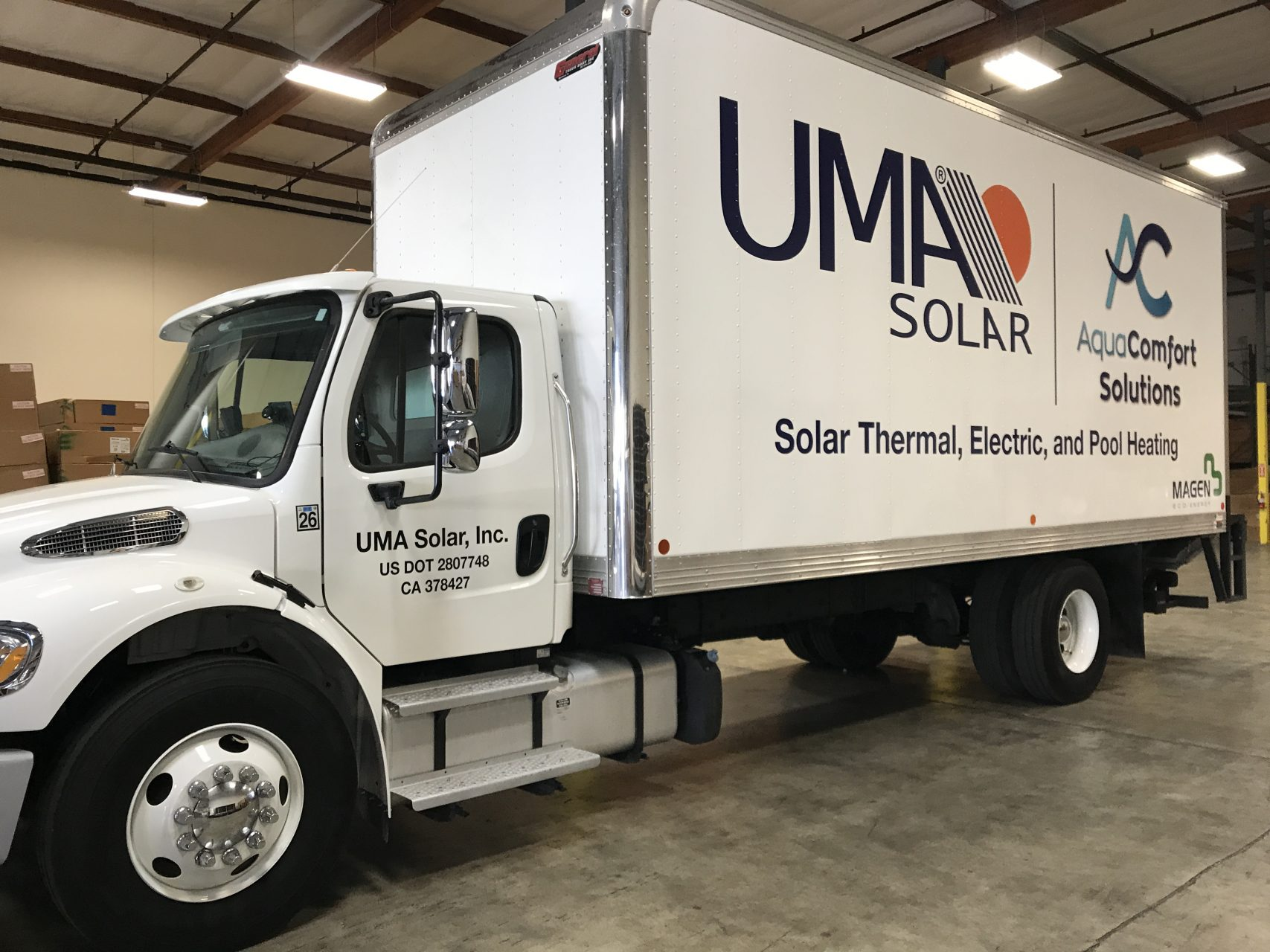 Vehicle Graphics & Lettering Box Truck - Sequoia Signs Fairfield CA