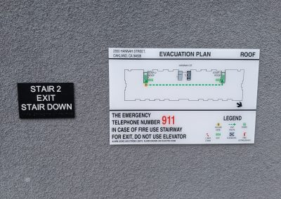 Fire & Regulatory Signs - Sequoia Signs East Bay, Concord, Lafayette