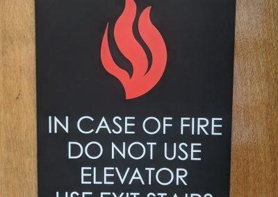 Fire & Regulatory Signs - Sequoia Signs Fairfield, Pleasant Hill, Martinez